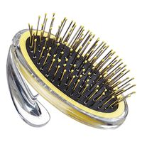 BRUSH PET METAL PIN