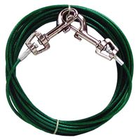 TIE OUT DOG SMALL 20 FOOT PDQ
