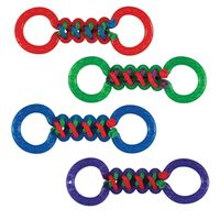 TOY PET BRAIDED DOUBLE TUG