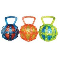 TOY PET CAGE W/BALL TRANSPARNT