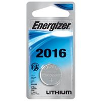 Energizer ECR2016BP Non-Rechargeable Coin Cell Battery