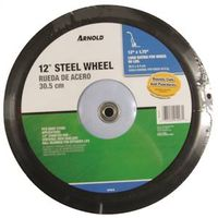 Arnold 1275-B Ribbed Semi-Pneumatic Diamond Tread Wheel