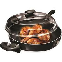 FRYER CHICKEN 11IN W/GLASS LID