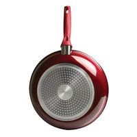 PAN FRY CERAMIC RED 9-1/2IN