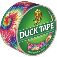 Adhesives, Sealants & Tapes Duck 283268 Colored Duct Tape Love Tie Dye To Adopt Advanced Technology