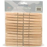 CLOTHESPINS WD BAG 84MM 50PC