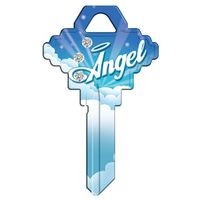 SC1 KEYBLANK ANGEL BLING