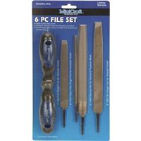 FILE SET 6 PC TWO TONE HANDLE