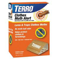 TRAP CLOTHES MOTH TERRO 12/CS