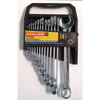 SET WRENCH IMPRL 1/4-1IN 14PC