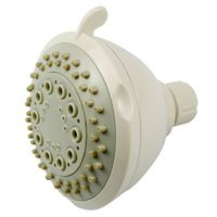 SHOWERHEAD FIXMOUNT 3-SET WHT