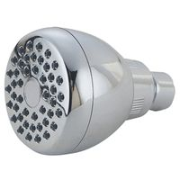 SHOWERHEAD FX/MT W/RUB TIP CHM