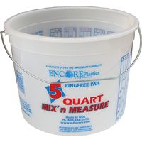 Mix-N-Measure 5166 Ringfree Paint Container With Wire Handle
