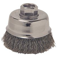 Weiler 36061 Coarse Grade Crimped Wire Cup Brush