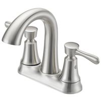 FAUCET LAV 4IN 2HDL LEV BR NIC