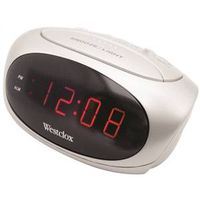 Westclox 70044B Electric Alarm Clock