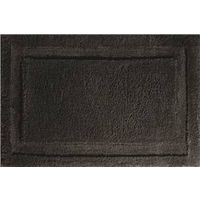 RUG BATH SPA BLACK 34 X 21