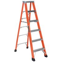 LADDER STEP TYP IAA FBRGLS 6FT