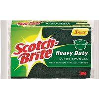 3M HD-3 Scotch-Brite Scrubbing Sponges
