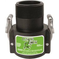 Green Leaf GLP200BNL Gator Lock Cam Lock Couplings