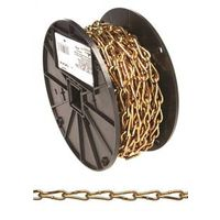 CHAIN COIL NO3 TW/LK 50FT RL