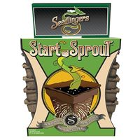 SEED START POT NO4 SQUARE 12PK