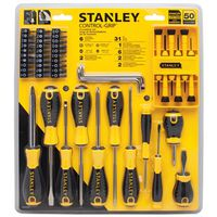 SCREWDRIVER ST W/CTRL GRP 50PC