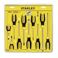 SCREWDRIVER SET FLUTD NICK10PC