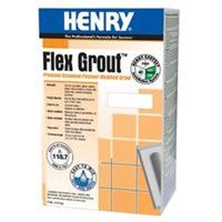 UniFlex Pro HUG011008 Polymer Modified Powdered Non-Sanded Grout?