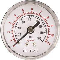 Tru-Flate 24-801 Air Line Pressure Gauge