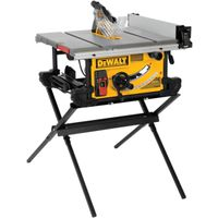 SAW TABLE W/SCISSOR STAND 10IN
