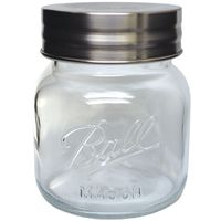 JAR SUPER WIDE MOUTH 1/2GALLON