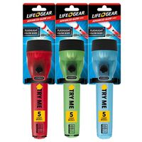 Life Gear LG02-10213-MT4 Flashlight