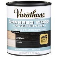 ACCELERATOR CHARRED WOOD 1QT