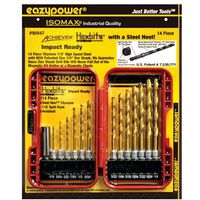 14PC STEEL HEEL DRILLBIT SET