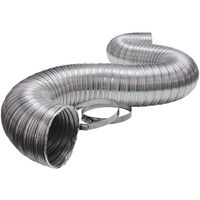 Lambro 3120UL Flexible Semi-Rigid Duct Pipe with (2) Clamps