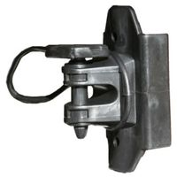 INSULATOR WOOD/T-POST BLK 25BG