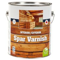 VARNISH INTR/EXTR 3.78L CLR