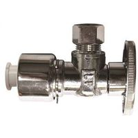 Plumb Pak K2622PCPOLF 1/4 Turn Quick Lock Angle Supply Line Valve