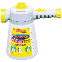 EcoSense Dial N Spray 33568A1 Multi-Use Hose End Garden Sprayer
