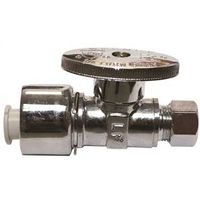 Watts KwikStop 1/4 Turn Quick Connect Straight Stop Valve