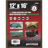 TARP REV 12X16FT BRN/GRN