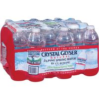 Crystal Geyser Alpine Spring 24514-7 Bottled Water