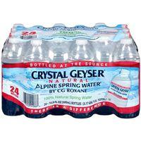 WATER BTTL SPG DPST LBL 16.9OZ
