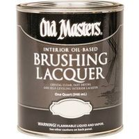 Old Masters 92704 Oil Based Brushing Lacquer