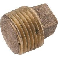 Anderson Metal 738114-02 Brass Pipe Plug