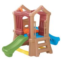 PLAYSET DOUBLE SLIDE CLIMBER