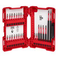 BIT SET IMP DRIL/DRVR 24PC 5PK