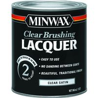 Minwax 15510 Oil Based Brushing Lacquer