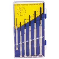 SCREWDRIVER PREC SET 6PC
